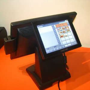 pos dual screen